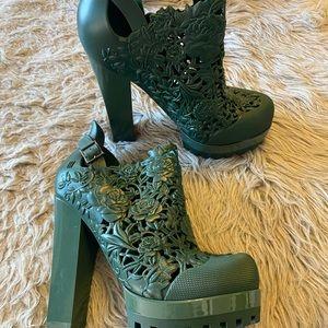 NEW Melissa carve patterns heels shoes
